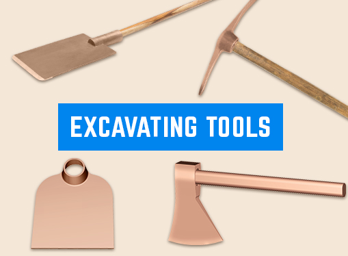 Non-Sparking Excavating Tools