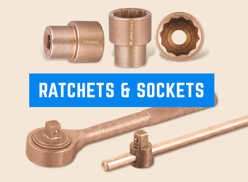 Non-Sparking Ratchest and Sockets